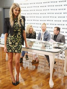 Jennifer Hawkins - Jennifer Hawkins Attends a MYER Model Casting