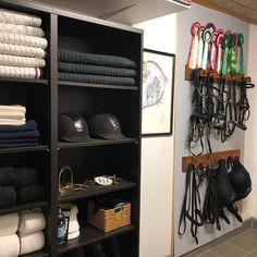 Tackroom make-over done . Tackroom make-over done Dream Stables, Dream Barn, Horse Stables, Tack Room Organization, Horse Tack Rooms, Backyard Barn, Horse Barn Plans, Horse Shelter, Horse Arena
