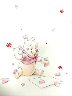 Pooh Corner Your source for all things Winnie the Pooh since Submit Ask Archive Winnie The Pooh Drawing, Winnie The Pooh Pictures, Cute Winnie The Pooh, Winne The Pooh, Winnie The Pooh Quotes, Winnie The Pooh Friends, Wallpaper Iphone Disney, Cute Disney Wallpaper, Disney Love
