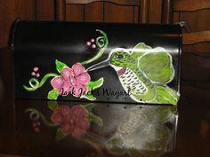 Hand painted mailbox Personalized gifts Custom by JackJacksWayart