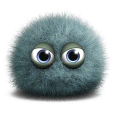 Picture of cartoon cute furry monster stock photo, images and stock photography. Cute Monsters, Little Monsters, Image 3d, Cute Alien, Stock Foto, Galaxy Art, 3d Cartoon, Cute Cartoon Wallpapers, Fuzz
