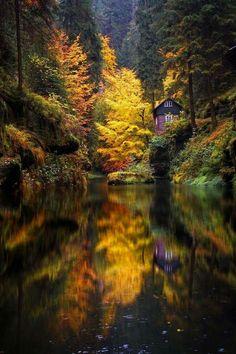 autumn reflections, Canadá