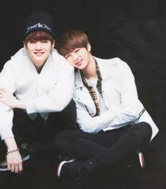 Image de bts, seokjin, and yoongi