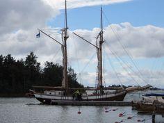 Purjelaiva Ihana- Luvia Homeland, Sailing Ships, Finland, Tourism, Boat, Random, Places, Turismo, Dinghy