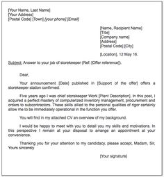 official letter template