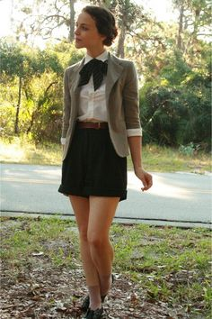 i would be ok with school uniforms like these