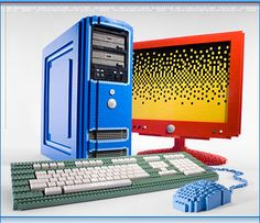 LEGO PC - this is awesome. Would totally buy it if I could and was on sale. Haha