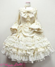 Aphrodite dress - white (アフロディーテドレス) | #AngelicPretty #OnePiece #Dress