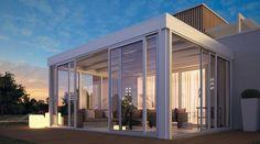 Gli infissi in alluminio con vetrate e coperture mobili sono sinonimo di più spazio, più luce, più funzionalità in tutte le stagioni.