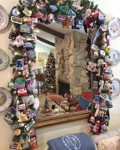 Horse Country Chic: Needlepoint Christmas Ornament Inspiration