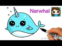 How to Draw + Color a Cloud Puking Rainbows step by step Cute and Easy - YouTube