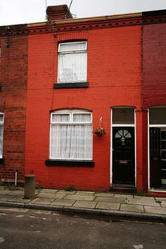 George Harrisons childhood home in Liverpool.
