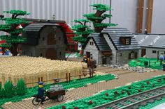 Lego Kits, Lego Man, Lego Trains, Lego Military, Lego Room, Cool Lego Creations, Lego Design, Lego Worlds, Lego Architecture