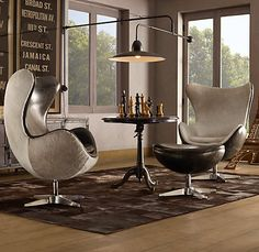 Restoration hardware 1950s Copenhagen chairs $1975