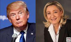 [LPQG Niouzes] Marine Le Pen fait une demande de stage à la Maison Blanche avec Donald Trump