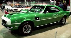Check out the cool story of this show quality restored original Rallye Green 1968 Chevy Yenko Camaro owned by the same person for 49 years. Yenko Camaro, 1968 Chevy Camaro, Camaro Rs, Green Camaro, Chevelle Ss, Chevy Pickups, Chevrolet Dealership, Gm Car, Chevy Muscle Cars