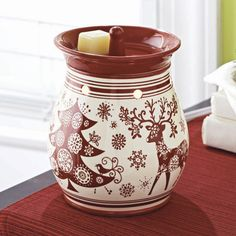 An easy way to add scent to any room, this scented  wax warmer looks as great as it smells (and no worries about a wick!). Better Homes and Gardens Scented Wax Warmer, now just $12.00