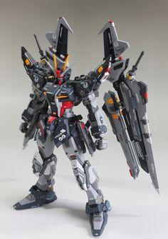 GUNDAM GUY: 1/100 Strike Noir Gundam - Customized Build