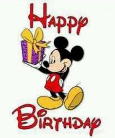Happy Birthday from Mickey!