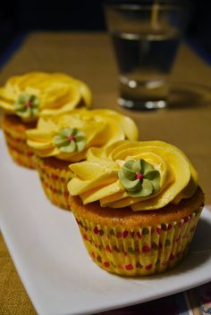 Mr. Washi San: Cupcakes de mango
