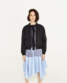 ZARA - WOMAN - BOMBER JACKET WITH SHIRT