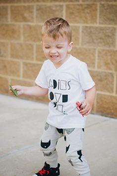 Hanes' outfit: Top - Finomenon   Pants - Little Boss Shop   Shoes - Converse