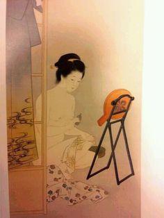 ニッポンお風呂事情 - BBの覚醒記録。無知から来る親中親韓から離脱、日本人としての目覚めの記録。 Japanese Drawings, Chinese, Traditional Artwork, Art Women, Japanese Painting, Japan Art, Hot Springs, Bathing, Toilet