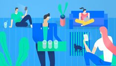 Facebook Security Tips on Behance