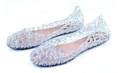 0fe3fb21cb6 Luckshop2012 Women s breathable shoes crystal plastic jelly shoes bird nest  mesh sandals (Size39 US 7.5  UK 5 EU38