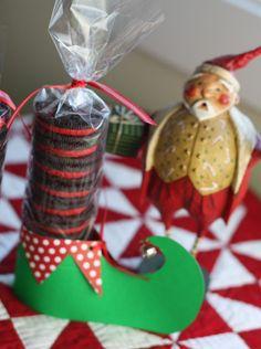 Quilt Taffy: Neighborly Elves neighborhood gift idea