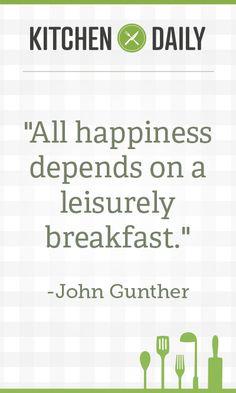 Breakfast = Success