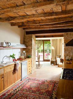 rustic kitchen #decor #cozinhas #farm #fazenda