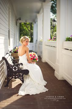 Editorial style photos of the bride