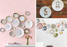 Platos para decorar la pared