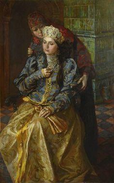 Ksenia B. Godunov (in tonsure Nun Olga, 1582 - 1622). Russian princess, the daughter of Tsar Boris Godunov
