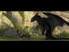 HOW TO TRAIN YOUR DRAGON trailer - this trailer conveys the magic and beauty of Hiccup and Toothless's friendship! First saw this trailer back in 2010 when I saw Alice in Wonderland in theaters. Watching it now, four years later, it still gives me a warm, happy feeling inside. When I first saw this trailer, I never imagined this movie would be so successful, but it has become one of my favorite franchises of all time!