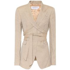 Gabriela Hearst Charles linen and silk blazer Blazer Outfits, Kpop Outfits, Fashion Outfits, Girl Outfits, Earthy Outfits, Classy Outfits, Suits For Women, Clothes For Women, Silk Jacket