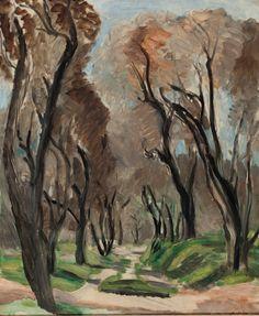"afroui: ""Henri Matisse | Allée d'oliviers 1919 """