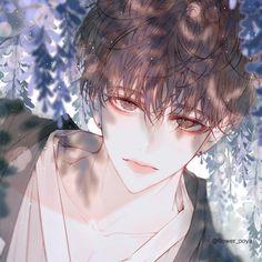 Cool Anime Guys, Handsome Anime Guys, Hot Anime Boy, Cute Anime Pics, Anime Art Girl, Anime Boys, Anime W, Anime Angel, Korean Anime