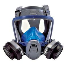 MSA Safety Works Paint and Pesticide Full-Face Respirator-10041138 - The Home Depot