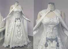Now THAT'S a wedding dress.  http://www.deviantart.com/art/Princess-Zelda-Wedding-Dress-581860396