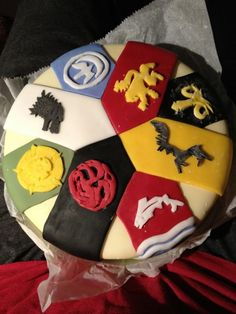 Awesome Game Of Thrones Westeros Cake is Fit for a King [Dessert Time] #got #gameofthrones #fanart