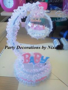 center piece for Baby Shower