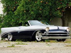 Chris Titus' Chip Foose designed '56 Chevy Bell Air