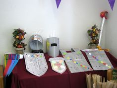 Armor of God crafts for older and younger kids.