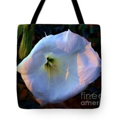 """Wild Flower Tote Bag 18"""" x 18"""" by Joanna Thompson"""