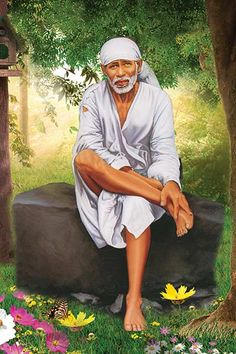 Ads Art Poster Wall decorative and Personalise Greeting cards Sai Baba Hd Wallpaper, Ganesh Wallpaper, Wallpaper Images Hd, Sai Baba Pictures, Sai Baba Photos, God Pictures, Wall Pictures, Sai Baba Miracles, Shirdi Sai Baba Wallpapers