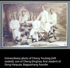 Photo of Cheng Youlong, the son of bagua master, Cheng Ting Hua.