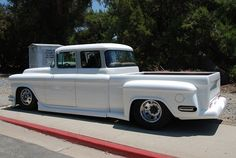 CUSTOM CREW CAB CHEVY DUALLY PICKUP TRUCK by Navymailman, via Flickr