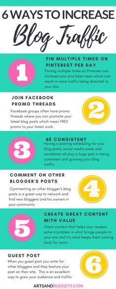 Top ways to increase blog traffic
